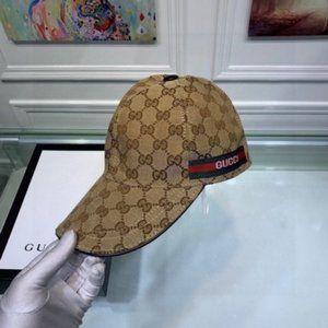 ✨Gucci brown monogrammed baseball cap